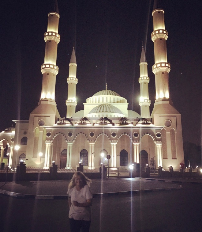 Blue Mosque in Dubai