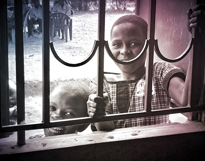 Kids thru Bars Gradient_Fotor