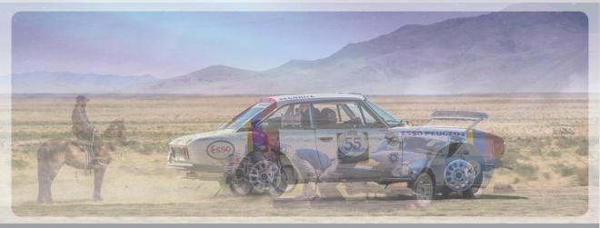 Car Horse Mongolia