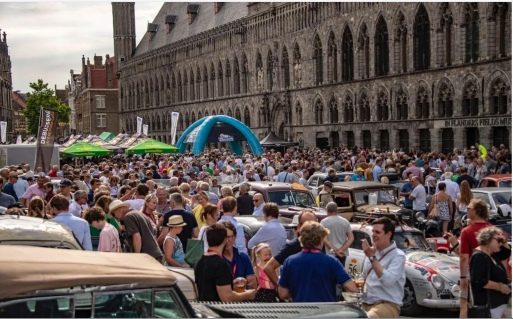 Major reception for P2P 2019 competitors in Ypres, July 6th.